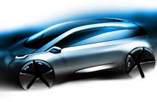 Carbon Fiber Eco Cars - The First Images of the BMW Megacity Vehicle are Revealed