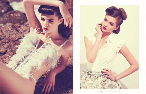 50s-Inspired Pictorials
