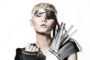 Model Gwen Lu is a Rocker Rebel