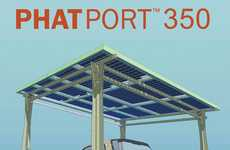 Solar Paneled Garages