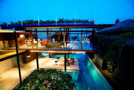 Summer Aquatic Homes - The Fish House by Guz Architects is a Swimmer's Paradise