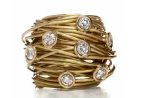 The Cathy B Fine Jewelry Summer 2010 Collection Features Some Wiry Pieces
