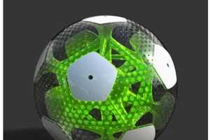 46 Balls Better Than Tar Balls - From Paint Ball Artwork to Blinged Out Soccer Balls