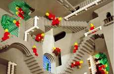 LEGO Escher Recreations - Andrew Lipson and Daniel Shiu Recreate Impossible Structures