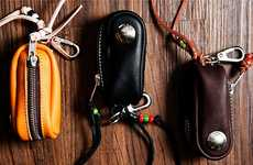 Rustic Native-Inspired Pouches