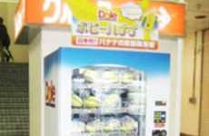 Fruity Vending Machines - Japan Gets a Healthy Snack Alternative With Dole Banana Vending Machines