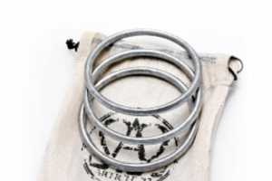 The Peace Bomb Bracelet is Made From Recycled Scrap Bomb Metal