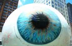 Startling Eyeball Sculptures
