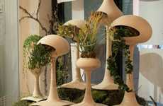 Shrub-Slurping Sculptures