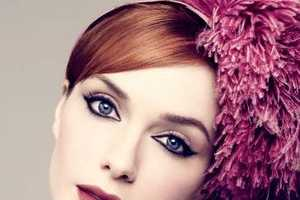 Christina Hendricks' LA Times Magazine Editorial is Full of Headgear