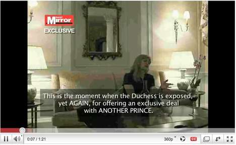 Tabloid Spoof Promotions - DLKW Uses Fergie Scandal to Promote Prince's New Album