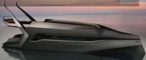Luxury Automaker Yachts - The Y10 Yacht from Krassi Dimitrov is Audi-Inspired