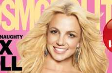 Neckless Magazine Covers - Britney Spears' Cosmo Cover is a Good Example of Bad Photoshop