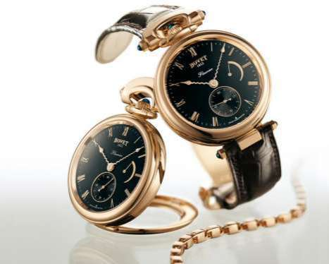The Bovet Fleurier Amadeo Pocket Watch is Classy and Versatile