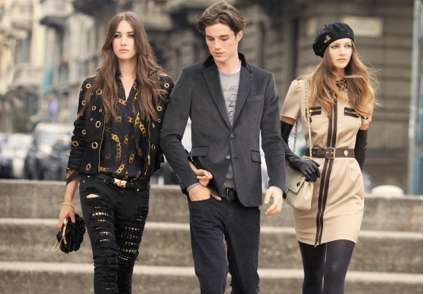 Street Style Ads - Garance Dore Shoots the Moschino Fall 2010 Campaign
