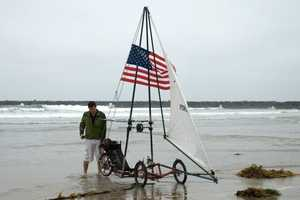 Pterosail Trike Systems' Designs Sail & Cycle Across USA
