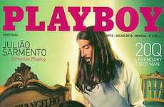 The Portugese Edition of Playboy Features Jesus Among Nude Models