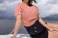 Discreet Life Jackets - The Inflatable Bandeau Belt is for the Stylish Seafarer