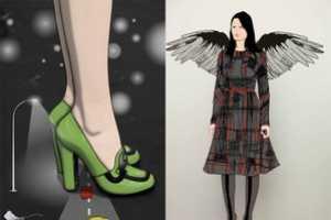 Prada Fantasy Lookbook FW 2010 Mixes Animation With Models
