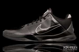 The Nike Zoom Kobe V Blackout Sneakers Are Undercover Badass