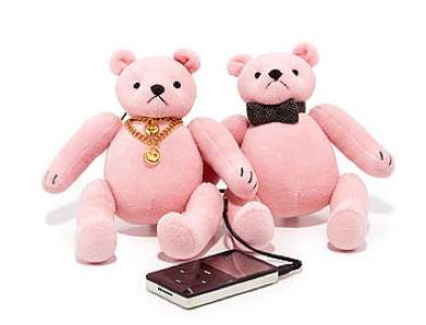 juicy couture mini bear speakers