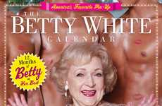 Golden Girl Date-Keepers - The Betty White Calender will Benefit the Morris Animal Foundation