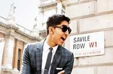 Savile Row Suiting - The Dev Patel GQ Photo Shoot is a Lesson in Sharp Style