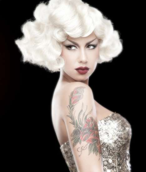 YRB Amber Rose Marilyn Monroe