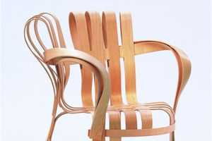 The Gehry Cross Armchairs for Knoll are Modern and Chic