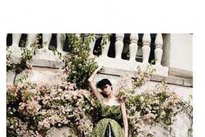 The Tasha Tilberg Harper's Bazaar UK August 2010 Spread