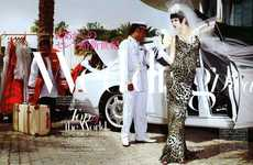 Leopard Print Wedding Dresses