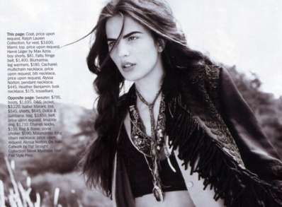 marie claire US august 2010