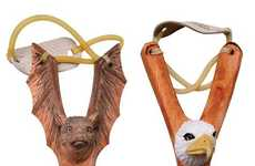 Detailed Animal Weaponry - The 'Creature Slingshots' Will Hurt Someone