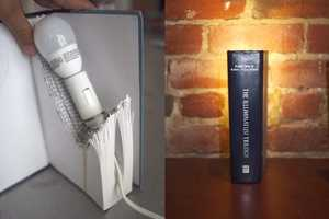 This DIY Book Light Project is for the Reading Obsessed