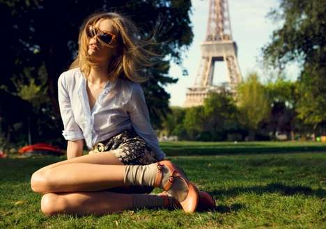 Youthful Teen Spreads - The Frida Gustavsson Vagabond Spring 2010 Campaign is Divine