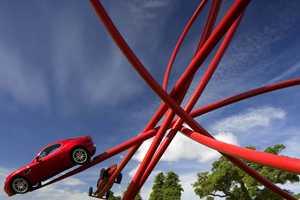 Alfa Romeo Centenary Sculpture is Not Actually a Ride