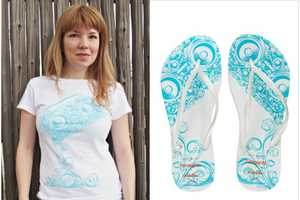 The Threadless Havaianas Collaboration Gets You Set for Summers on the Beach