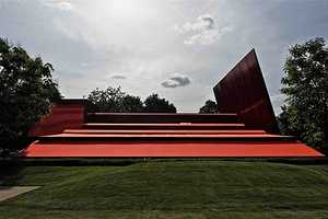 Serpentine Gallery Pavilion 2010 is Decked Out in Crimson Color