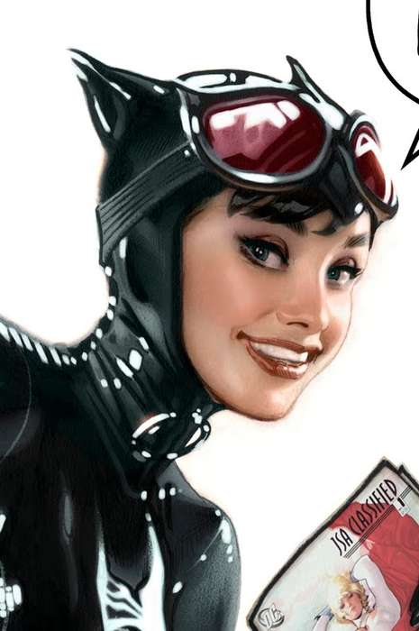 Audrey Hepburn as Catwoman