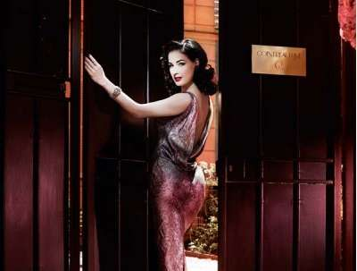 Pop-Up Burlesque Bars - Dita Von Teese and Cointreau Open an Exclusive Club in Paris