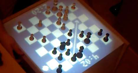 DIY Interent Chess Table