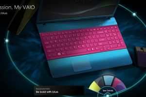 The Vaio E Color Combo Site Allows You to Be the Creator