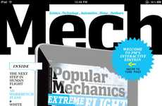 Digitized Magazines - The PopMech Interactive iPad Edition is Collaborative Fun