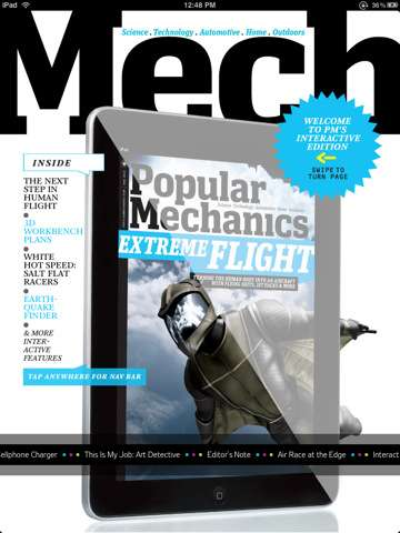 PopMech Interactive iPad Edition