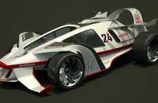 50s-Inspired Vehicles