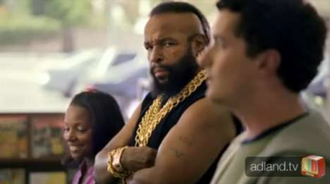 Mastercard Mr T Bodyguard Commercial