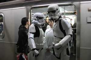 Improv Everywhere Star Wars Video Stages a Galactic Takeover on the Metro