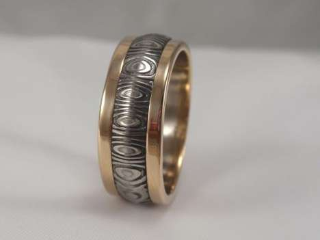 Jewelry By Johan Designs Meteorite Luxury Rings