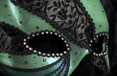 Green Lantern Masks - Artist Sparks Creates Dangerously Irresistable Disguises