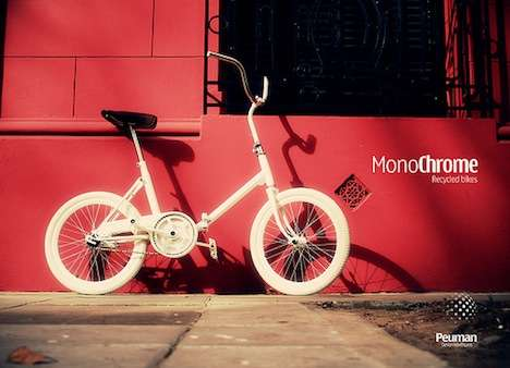 Monochrome Recycled Bikes